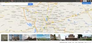 Google Maps Important Places