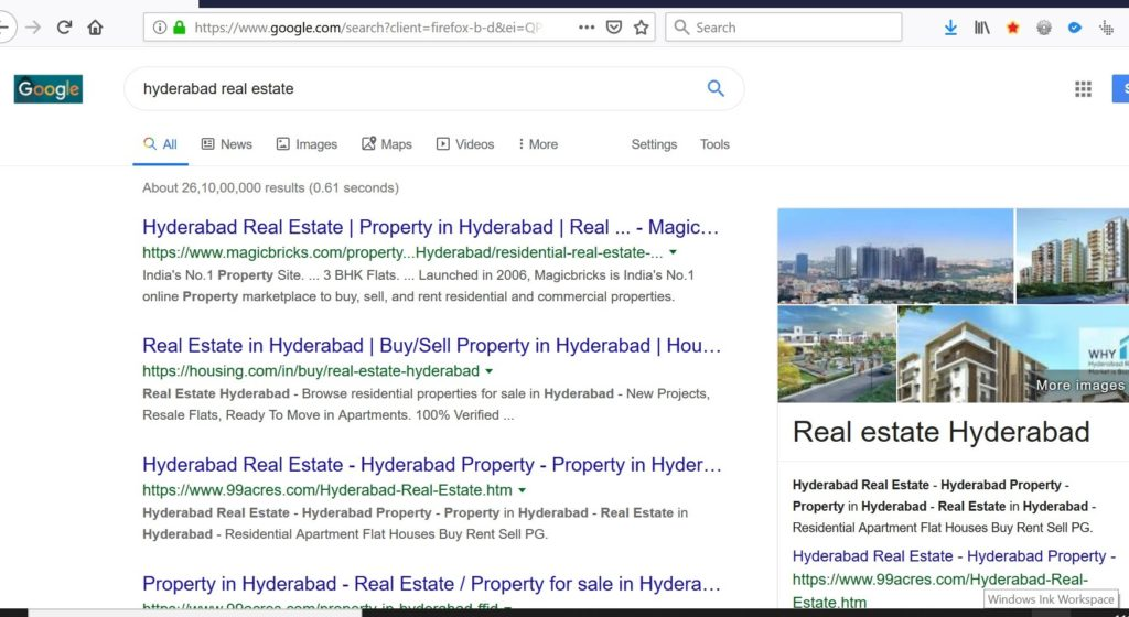 Google Bigger Fonts and Search Results Without Google Ads