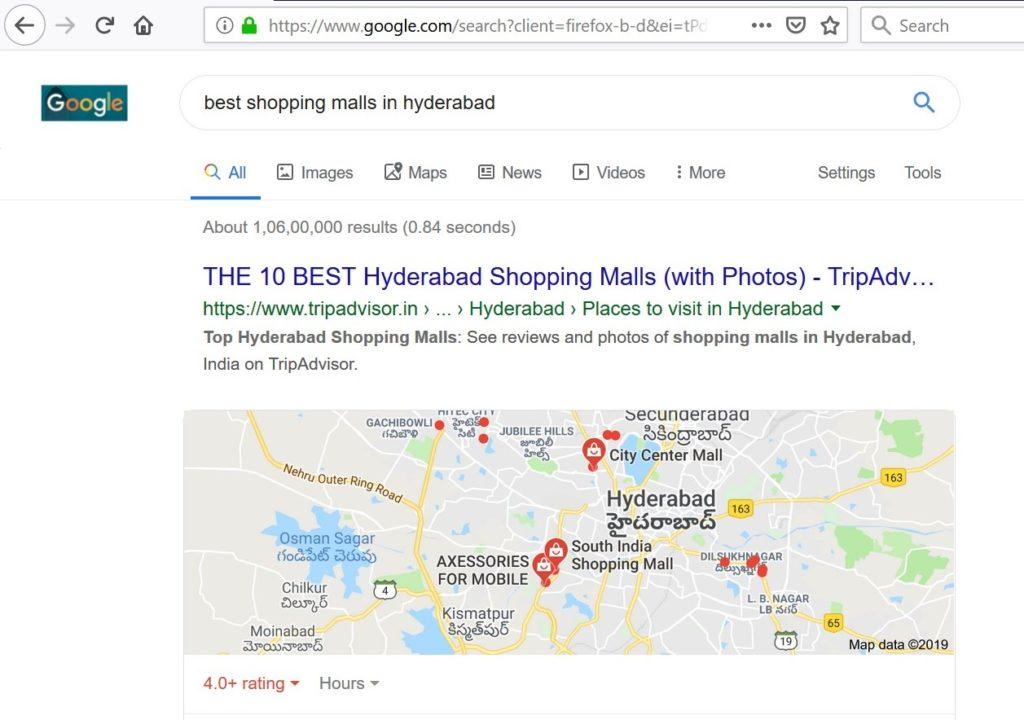 Google Bigger Fonts and Local Listings